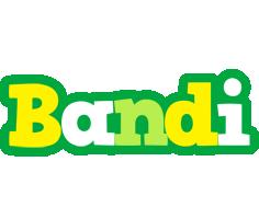 Bandi soccer logo