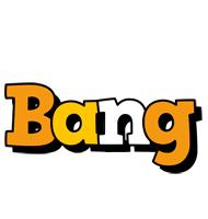 Bang cartoon logo