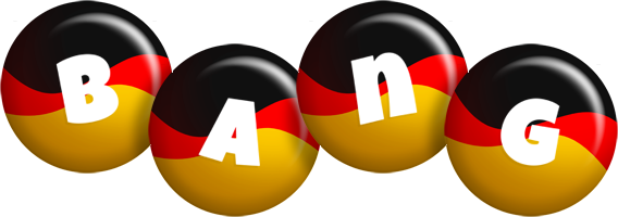 Bang german logo