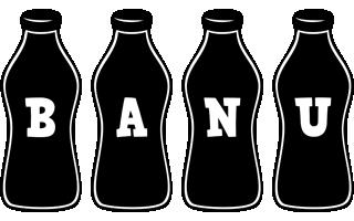 Banu bottle logo