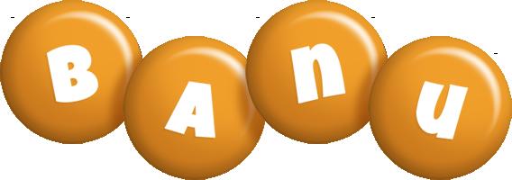 Banu candy-orange logo