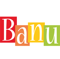 Banu colors logo