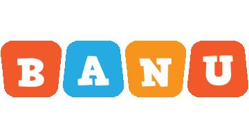 Banu comics logo