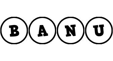 Banu handy logo