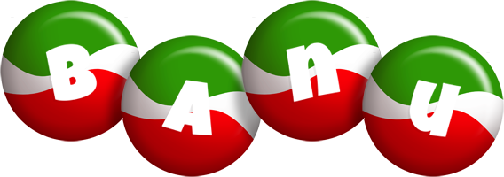 Banu italy logo