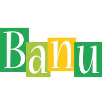 Banu lemonade logo