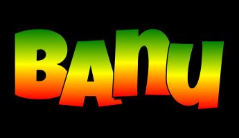 Banu mango logo