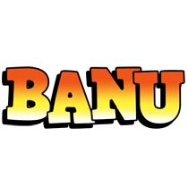 Banu sunset logo