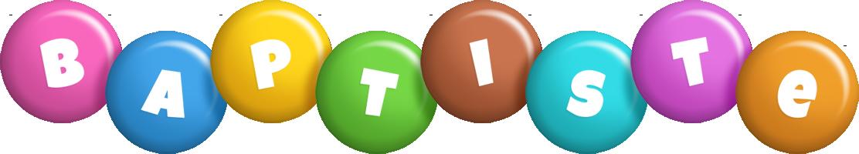 Baptiste candy logo