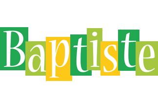 Baptiste lemonade logo