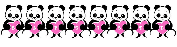 Baptiste love-panda logo
