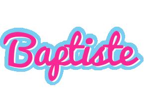 Baptiste popstar logo