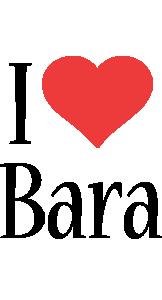 Bara i-love logo