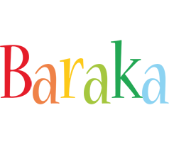Baraka birthday logo
