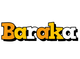Baraka cartoon logo