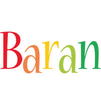 Baran birthday logo