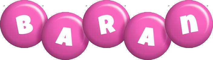 Baran candy-pink logo