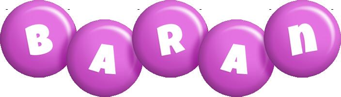 Baran candy-purple logo