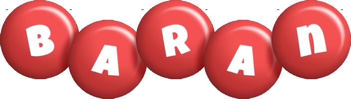 Baran candy-red logo