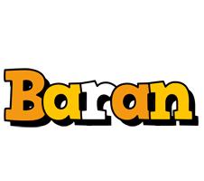 Baran cartoon logo