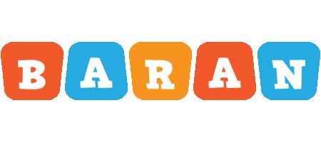 Baran comics logo