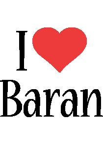 Baran i-love logo