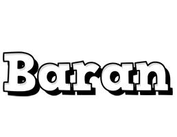 Baran snowing logo