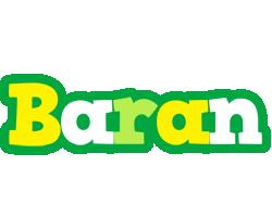 Baran soccer logo