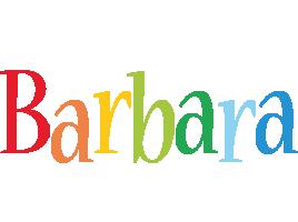 Barbara birthday logo