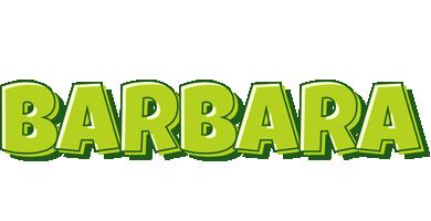 Barbara summer logo