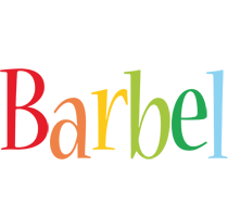 Barbel birthday logo