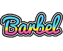 Barbel circus logo