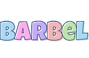 Barbel pastel logo