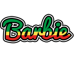 Barbie african logo