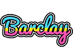 Barclay circus logo