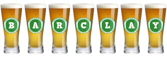 Barclay lager logo