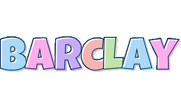 Barclay pastel logo