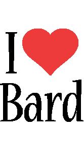 Bard i-love logo