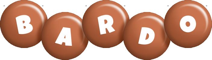 Bardo candy-brown logo
