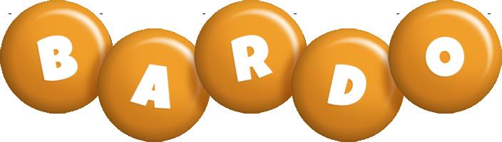 Bardo candy-orange logo