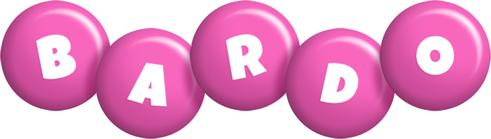 Bardo candy-pink logo