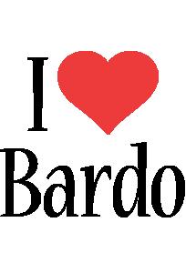 Bardo i-love logo