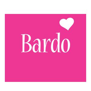 Bardo love-heart logo