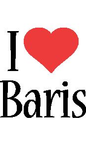 Baris i-love logo