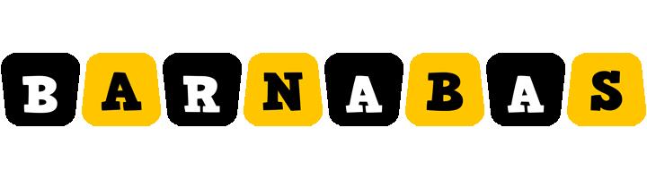 Barnabas boots logo