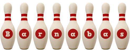 Barnabas bowling-pin logo