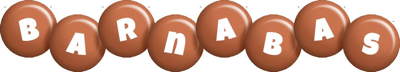 Barnabas candy-brown logo