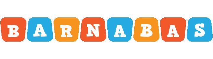 Barnabas comics logo