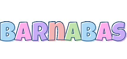 Barnabas pastel logo