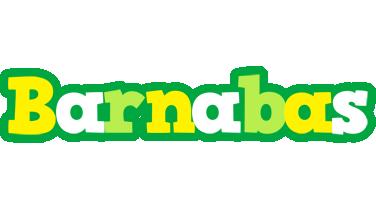Barnabas soccer logo